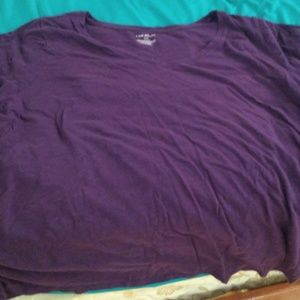 Purple Lane Bryant T shirt